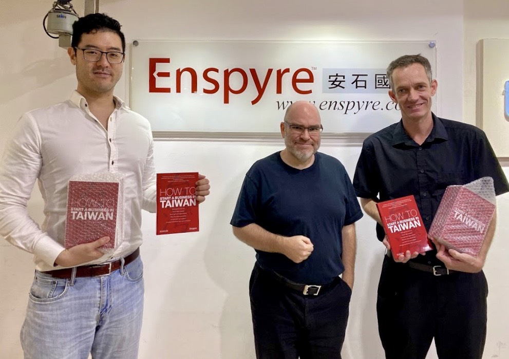 Enspyre donated books《 How to Start a Business in Taiwan 》to Abled Minds Taiwan to support empowering physically disabled people become entrepreneurs.